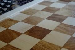 jeu de dames en bois massif