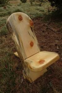 Chaise de plein air Cerdane, style chaise Africaine