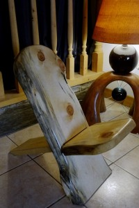 Chaise Cerdane, style chaise africaine