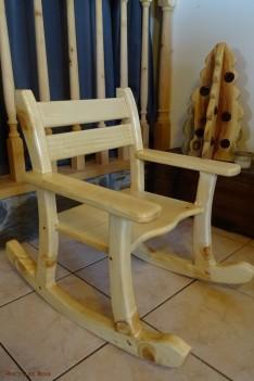 Chaise à bascule enfant