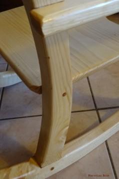 Renfort de l'assise par tourillon