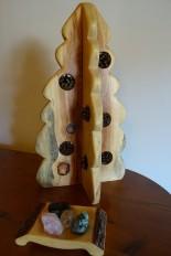 Sapin de Noël tout en bois