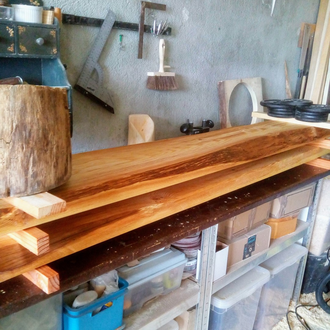 Assise et dossier en bois massif