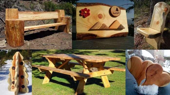L'Atelier Robinson créations en bois massif de Cerdagne