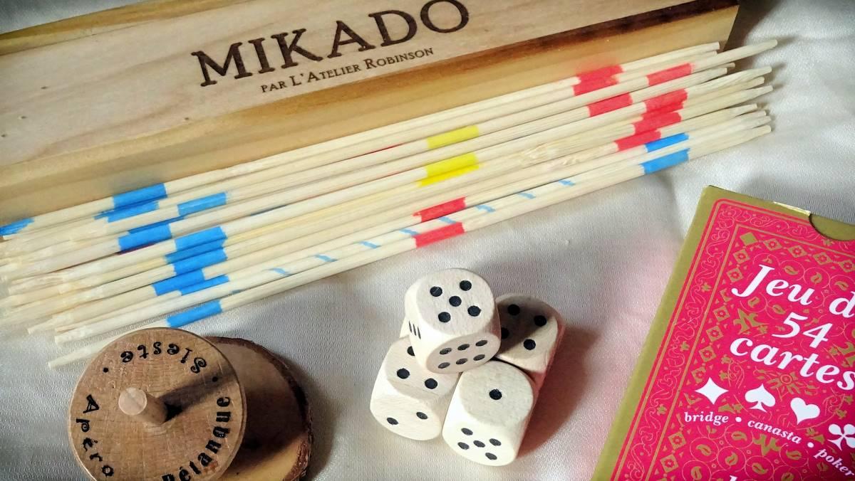 N°2 Coffret Adulte de Jeux en bois