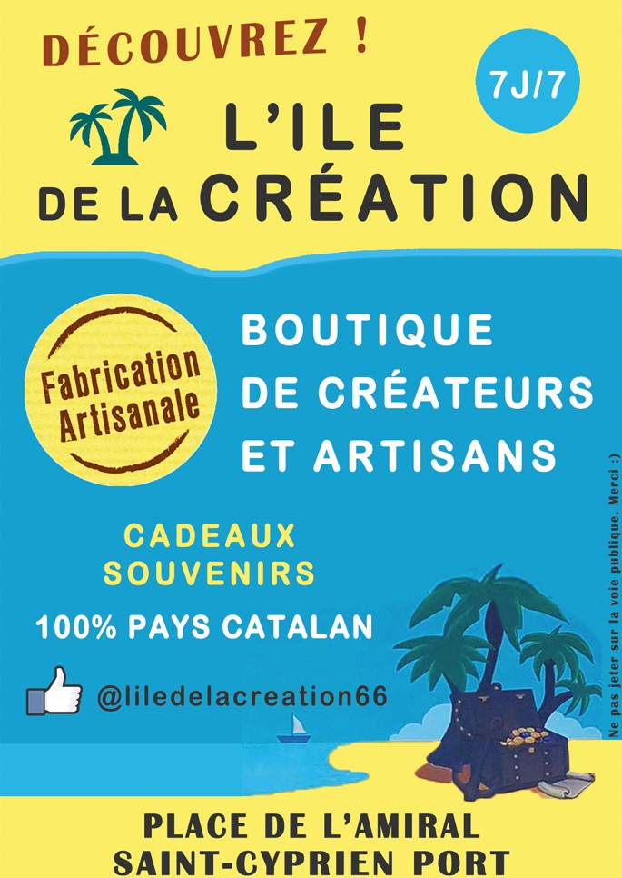 l ile de la creation saint cyprien